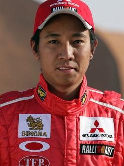 Team Mitsubishi Ralliart Thailand: Mana Pornsiriched