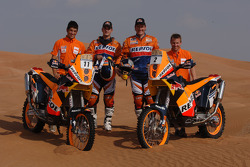 KTM: Jordi Viladoms and Marc Coma