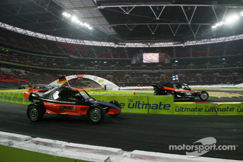 Final heat 2: Sebastian Vettel and Marcus Gronholm