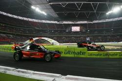 Final heat 2: Sebastian Vettel and Marcus Gronholm