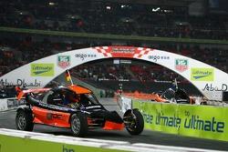 Final heat 2: Michael Schumacher and Mattias Ekström