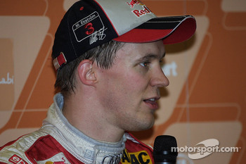 Press conference: Race of Champions winner Mattias Ekström