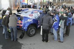 Volkswagen send-off event: Volkswagen team