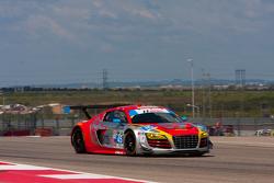 #45 Flying Lizard Motorsports Audi R8 LMS: Mike Vess, Jason Hart