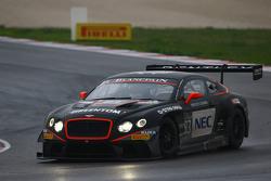 宾利HTP车队83号宾利欧陆GT3:马克斯·范斯普伦特伦、朱尔斯·斯奇姆科亚克