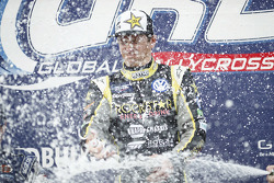 Winner Tanner Foust, Andretti Autosport Volkswagen