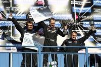 RDS Фото - Подиум: Павел Бусыгин, второй, Евгений Сатюков, победитель и Ярослав Гавриков, третий