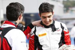 Polesitter Esteban Ocon, ART Grand Prix