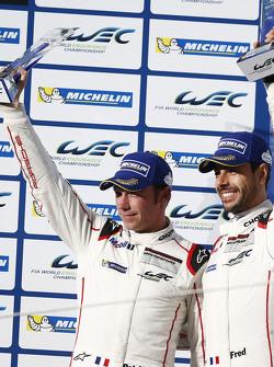 Second place GTE-Pro class Frederic Makowiecki, Patrick Pilet, Porsche Team Manthey