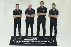 Scott Pye, Dick Johnson, Tim Cindric, Fabian Coulthard, DJR Team Penske