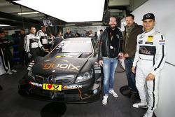 Pascal Wehrlein, HWA AG Mercedes-AMG C63 DTM met BossHoss