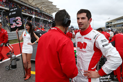 Alexander Rossi, Manor Marussia F1 Team on the grid