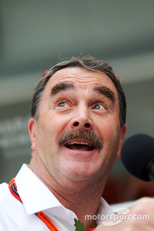 Nigel Mansell at Mexican GP