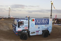 Team Trifene, Mundo Dakar event: Elisabete Jacinto, Alvaro Velhinho, Marco Cochinho