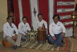 Red Line Off-Road Team: Francisco Inocencio and Paulo Fiuza, Nuno Inocencio and Jaime Santos