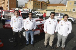 Red Line Off-Road Team: Francisco Inocencio and Paulo Fiuza, Nuno Inocencio and Jaime Santos