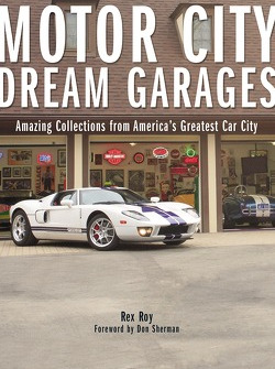 Motor City Dream Garages book cover