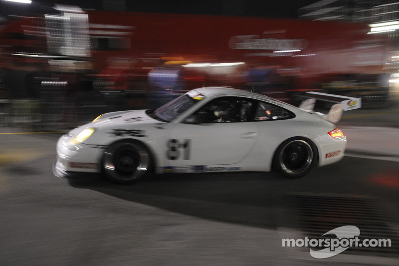 #81 Synergy Racing Porsche GT3 Cup: Steve Johnson, Patrick Huisman, Robert Doornbos, Richard Lietz