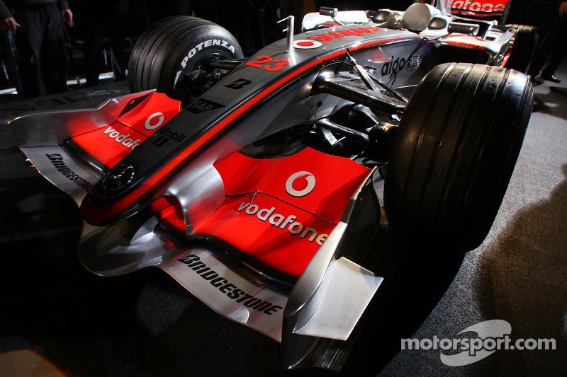 The new McLaren Mercedes MP4-23