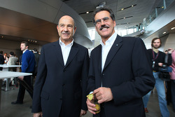 Peter Sauber and Dr. Mario Theissen, BMW Sauber F1 Team, BMW Motorsport Director
