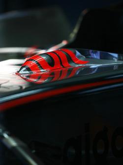 McLaren Mercedes, MP4-23 detail