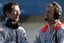 McLaren Mercedes engineers
