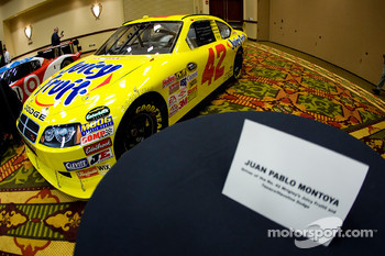 Chip Ganassi Racing with Felix Sabates: Dodge NASCAR Sprint Cup car of Juan Pablo Montoya