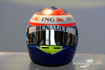 Helmet, Romain Grosjean Test Driver, Renault F1 Team