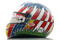 Helmet of Alexander Wurz, Test Driver, Honda Racing F1 Team