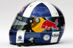 Helmet of David Coulthard, Red Bull Racing