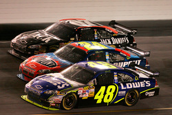 Jimmie Johnson, Jeff Gordon and Clint Bowyer