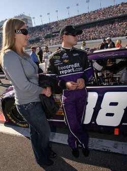 David Gilliland with his wife