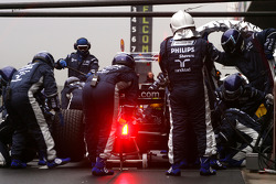 Nico Rosberg, Williams F1 Team, FW30 practice pitstop