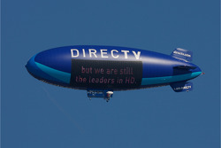 The DirectTV blimp over Daytona