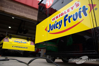 Juicy Fruit Dodge in the garage