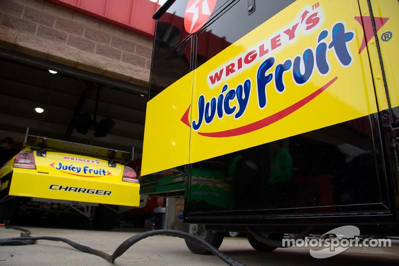 Juicy Fruit Dodge in the garage