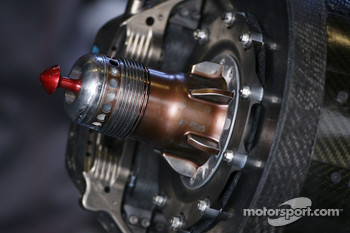 Force India F1 Team brake detail