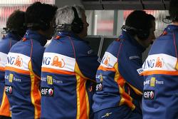 Renault F1 Team Engineers