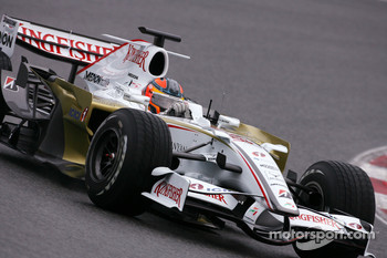 Vitantonio Liuzzi, Test Driver, Force India F1 Team, F8-VII-B