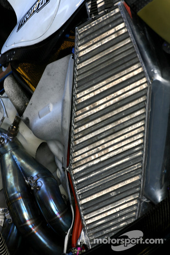 Force India VJM01, cooling system detail
