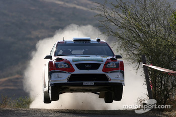 Federico Villagra and Jorge Perez Companc, Ford Focus RS WRC