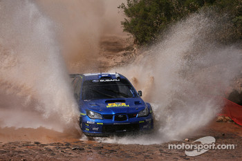 Petter Solberg and Phil Mills, Subaru World Rally Team, Subaru Impreza WRC2007