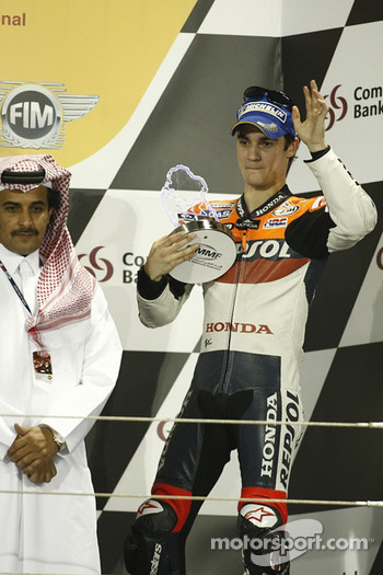 Podium: Dani Pedrosa