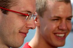 Sébastien Bourdais, Scuderia Toro Rosso, Sebastian Vettel, Scuderia Toro Rosso