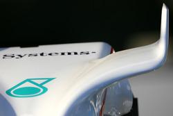 BMW F1.08 wing detail