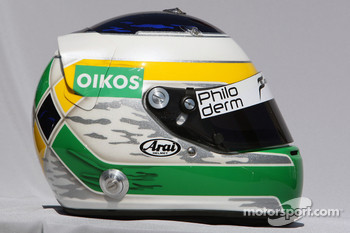 Giancarlo Fisichella, Force India F1 Team, helmet