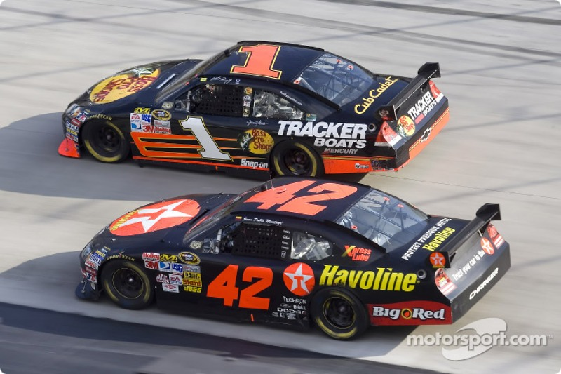 Martin Truex Jr. and Juan Pablo Montoya