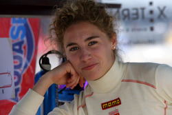Rahel Frey, driver of A1 Team Switzerland