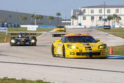 #3 Corvette Racing Chevrolet Corvette C6R: Johnny O'Connell, Jan Magnussen, Ron Fellows