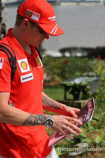 Kimi Raikkonen, Scuderia Ferrari